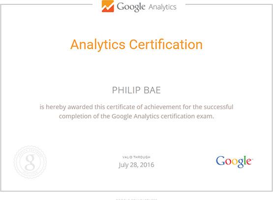 Google Analytics Certification Exam Preparation | Courses